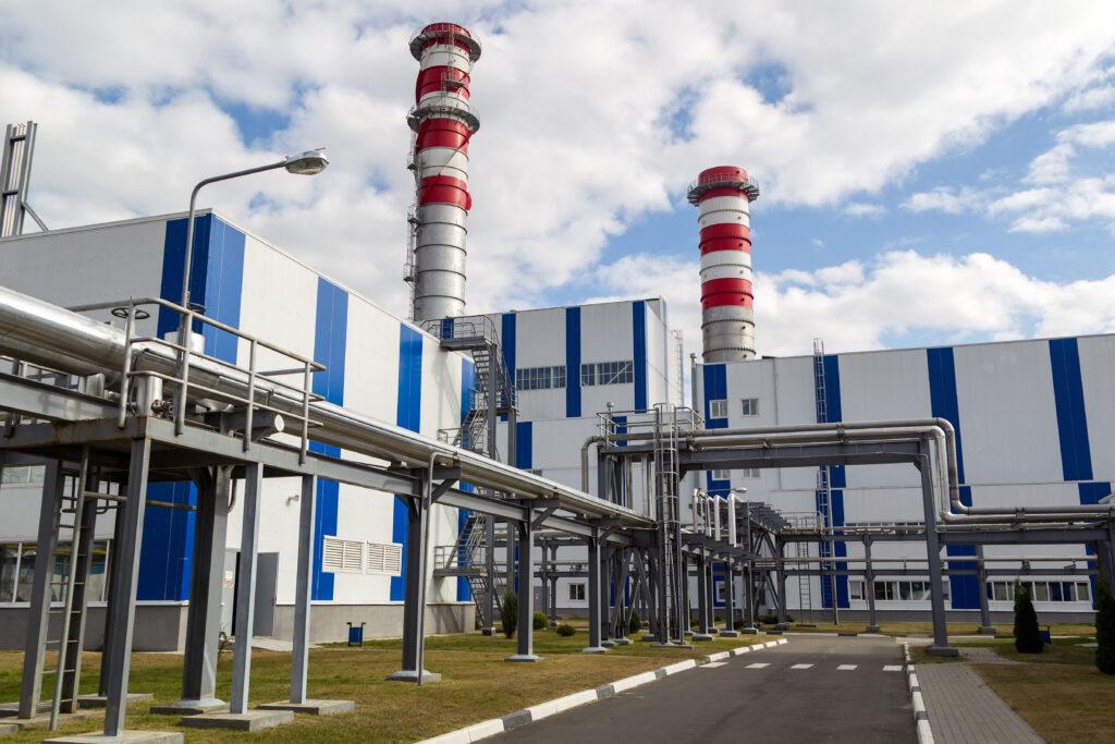 20180126 bereza belarus september 19 2016 the new power unit at berezovskaya thermal power plant 1