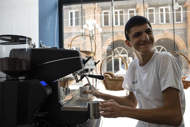 Armenia: First inclusive bakery in Gyumri