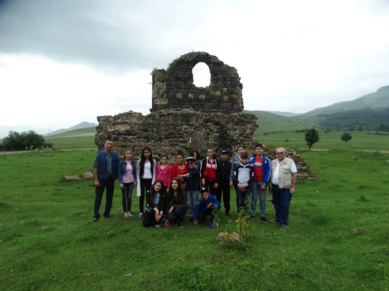children visited cultural heritage sights in lori 5