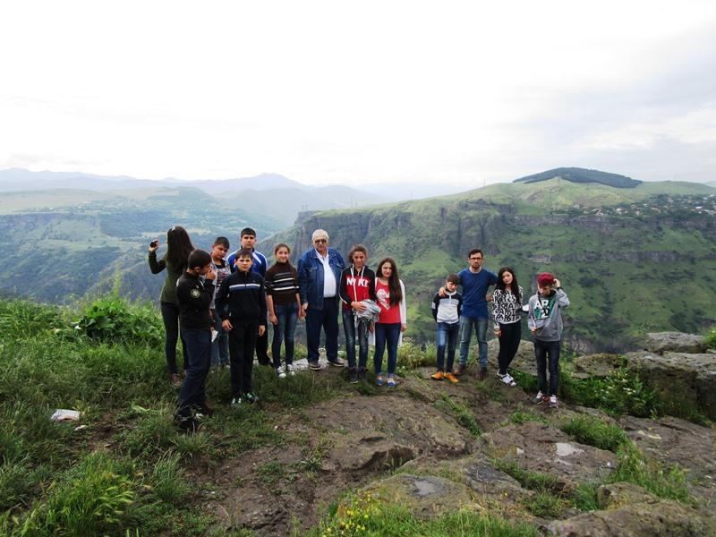children visited cultural heritage sights in lori landscape