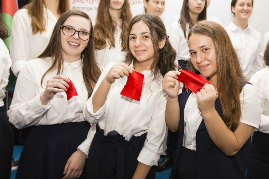 eap school first students sept 2018