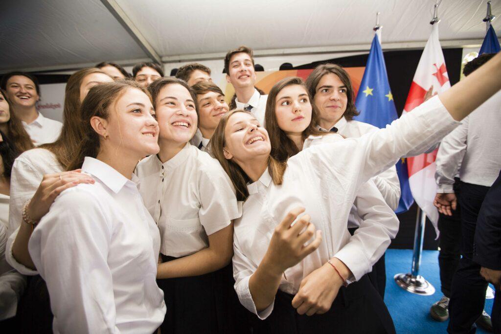 eap school students sept 2018 tbilisi
