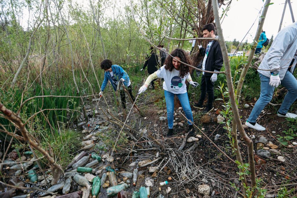 rioni river clean up kutaisi 22 april