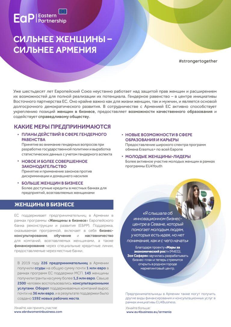 stronger women armenia ru