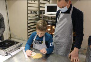 ukraine cookie with boy